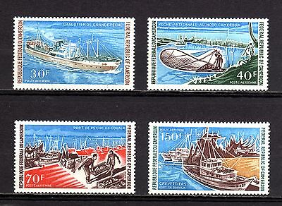 120-CAMEROON-CAMEROUN-complet set AIRMAIL.Yvt.182-85.MNH.1971.Afrique.FRENCH.