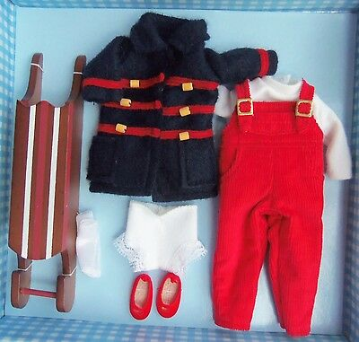 """Tiny 8"""" Betsy McCall GOES SLEIGH RIDING Outfit MIB Robert Tonner"""