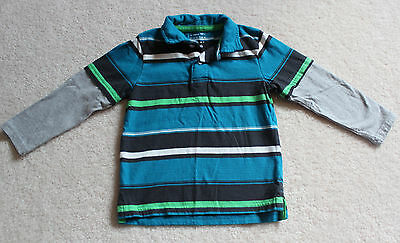 Sonoma Toddler Boys LS Polo Shirt SZ 3T Pre-Owned