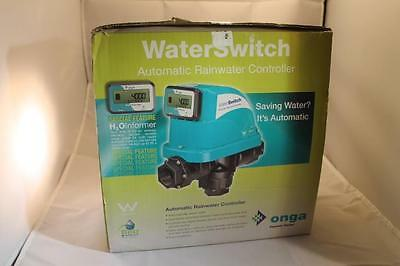 Onga Pentair WS1500200 Rainwater Water Switch H2O Informer New,Never Installed