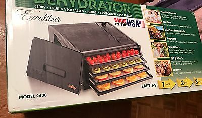 Excalibur Products 4 Tray Economy 2400 Food Dehydrator NEW!
