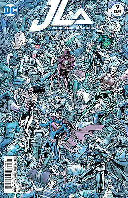 JUSTICE LEAGUE OF AMERICA #9, New, First Print, DC Comics (2016)