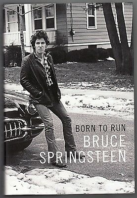 Bruce Springsteen Signed Autographed Born To Run 1St Edition Hardcover Book