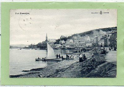 """""postcard Port Bannatyne,isle Of Bute,scotland,dated 1907"""""