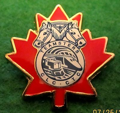 TEAMSTERS CANADA Pin Mint in Package