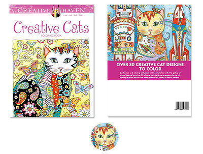 Newest Creative Cats Lovely English Graffiti Coloring Book Kids Painting BYAC09