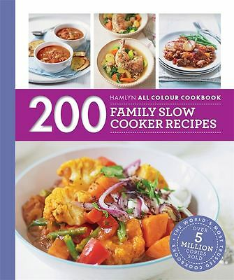 200 Family Slow Cooker Recipes by Sara Lewis - Paperback - NEW - Book