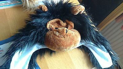 Childrens 3D Furry Fun Animal Monkey Hat - Size 56 cms