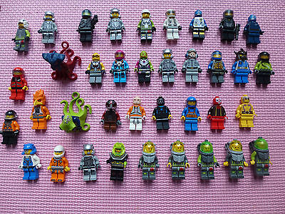 Lego Minifigures X 35 - Space Theme / Mixed Lot / Bundle
