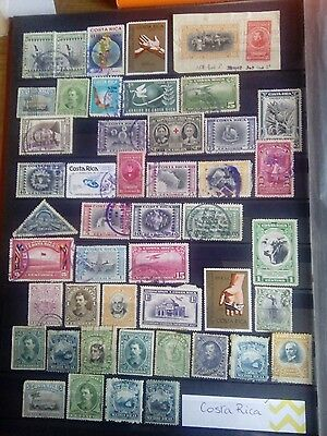 Stamps Used Mm Costa Rica South America