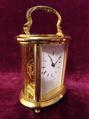 Carriage Clock Garrard & Co Brass London