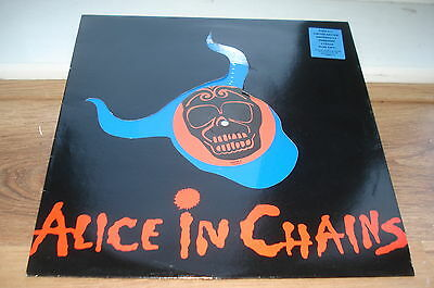 "Alice In Chains Them Bones BLUE VINYL DIE-CUT ORIGINAL UK 12"" TOP AUDIO!!"