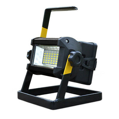 50W 36 LED Portable Rechargeable Flood Light Spot Work Camping Fishing USB Lamp