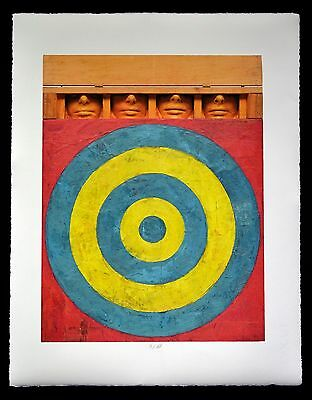 """Jasper Johns """" Target With Four Faces"""""""