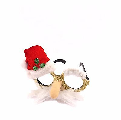 Adult Christmas Xmas Party Fun Novelty Santa Reindeer Glasses Fancy Dress