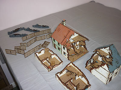 28mm scenery / terrain ww1, ww2 bolt action, 4ground pre painted
