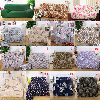 L-Shaped Stretch Sofa Covers Chair Cover Couch Sofa Slipcover for 1 2 3 Seater
