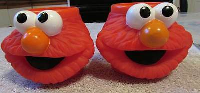 Lot Set of 2 Elmo mug cups applause good used condition