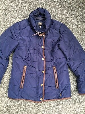 Joules Girls Coat Age 9/10