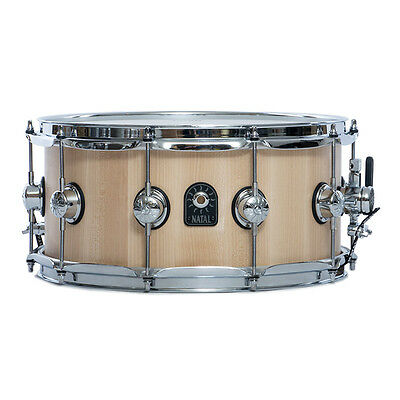 Natal 14x6.5in Maple Pure Stave Snare - Natural
