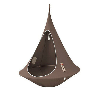 CACOON single, hang-in-out, das Swing-Nest in taupe,150 cm Liegefläche (10704)