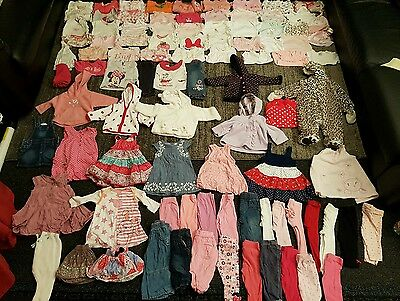 Baby Girls 3-6 Months clothes bundle 95 items 5