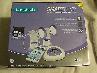 Genuine Lasinoh Smart Pump Double Electric Breast Pump with Bluetooth Brand New
