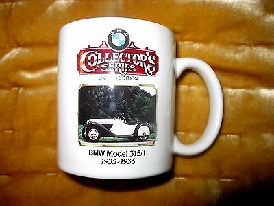 BMW Collector's Series Limited Edition 1935 Model 315/1 Mug 370 of 3,000