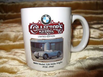 BMW Collector's Series Ltd Ed 1938 -1940 Mille Miglia 328 Mug  830 of 3,000