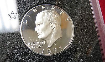 1971-S Brown Ike Proof Dollar - In Origninal Box -    P -5