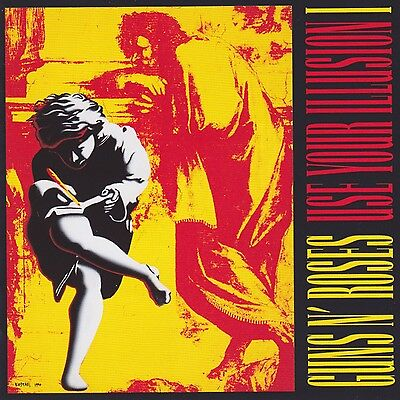Guns N Roses Use Your Illusion 1 New Sealed Double 180G Vinyl Lp In Stock