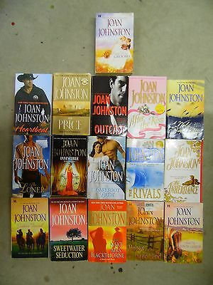 Large Lot of 16 Joan Johnston Historical & Contemporary Romance Paperback Books
