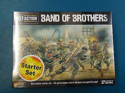 Bolt Action Second Edition Starter Set - Band Of Brothers - Warlord Games - NEW
