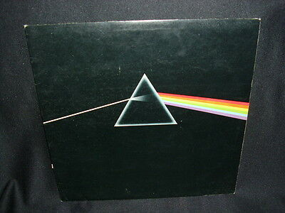 LP: Pink Floyd: - The Dark Side Of The Moon -  SHVL 804 made in Gt Britain