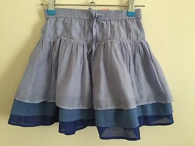 Girls.Old Navy.Skirt.Age 5 Years/XS.Tier.layered. Blue.Shades.Summer.Pretty.New.