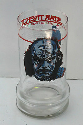 Star Trek III The Search For Spock LORD-KRUGE Glass. Taco Bell. 1984