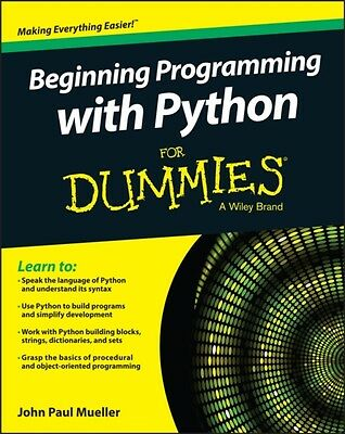 Beginning Programming with Python For Dummies (Paperback), Muelle. 9781118891452