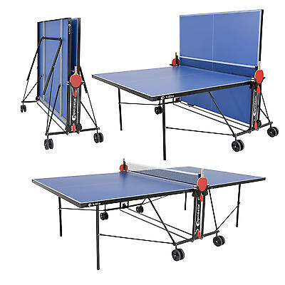 Bargain Unused Ex Display Blue Sponeta Outdoor Table Tennis Table 2 yr warranty