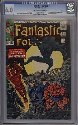 Fantastic Four #52 - CGC Graded 6.0 - 1st Black Panther