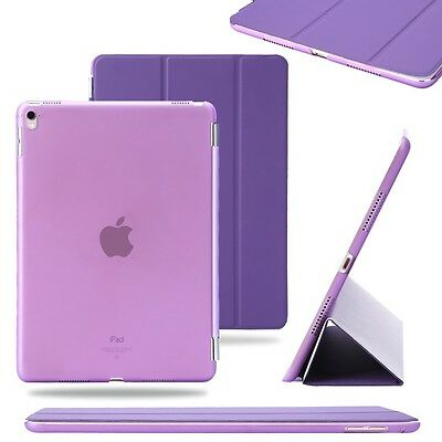 """Purple Slim PU Leather Smart Magnetic Stand Cover Case for Apple iPad Pro 9.7"""""""