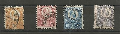 Timbres Anciens Hongrie