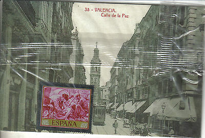 ¡¡ Eih ¡¡ Postal/sello Metalico Coleccion Diario Levante, Nº:38