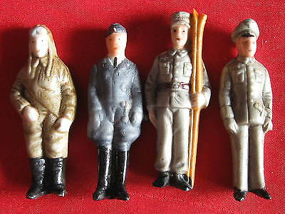 4Old German WHW SOLDIERS 1938 WWII