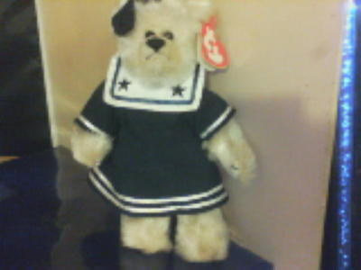 Party Bag present - BREEZY the Sailor Bear - Ty Attic treasure jointed Bear