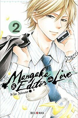 Mangaka and Editor in Love T02 Nanao-M Soleil Francais Reliure inconnue Book