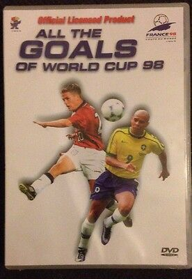 World Cup - All The Goals From World Cup '98 (DVD, 2004)