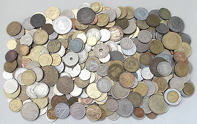 WORLD / FOREIGN - 1.8Kg of Mixed World Coins - 1800g Job Lot  - No British (L35)