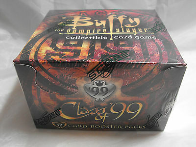 BUFFY THE VAMPIRE SLAYER CCG CLASS OF 99 SEALED BOOSTER BOX OF 36 PACKS unlimite