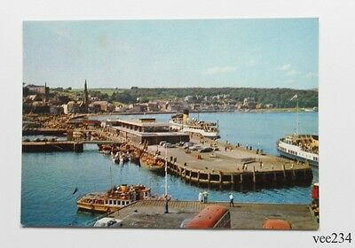Post Card-Rothesay Harbour Bute-J.Arthur Dixon Natural Colour-Unused-5050