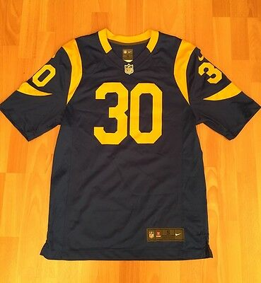Rare Nike Los Angeles LA Rams Throwback NFL American Football Jersey